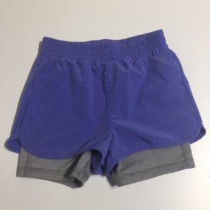 Other - Gapfit girls double layered shorts